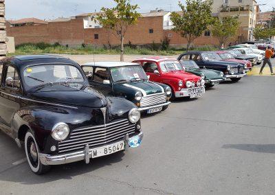 Trobada de vehicles clàssics a Golmés, maig de 2016