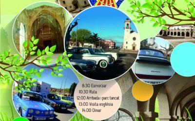 Trobada de cotxes antics, clàssics i esportius Vilanova de la Barca (9-04-17)